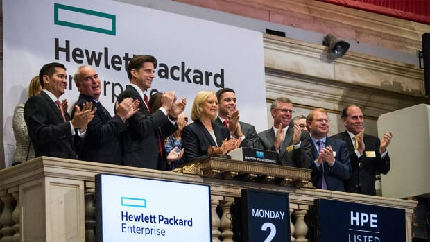 HPE CFO Outlines Secular Shift in Technology That Signals Strength into 2019