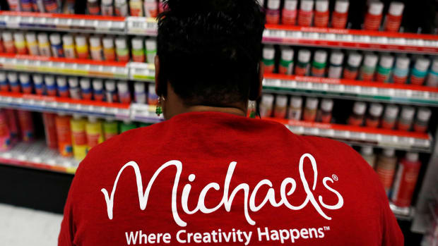 Michaels Climbs on Fourth-Quarter Earnings Beat