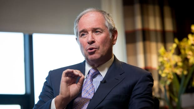 In Boardroom, Blackstone CEO Schwarzman Surrounds Himself With Men