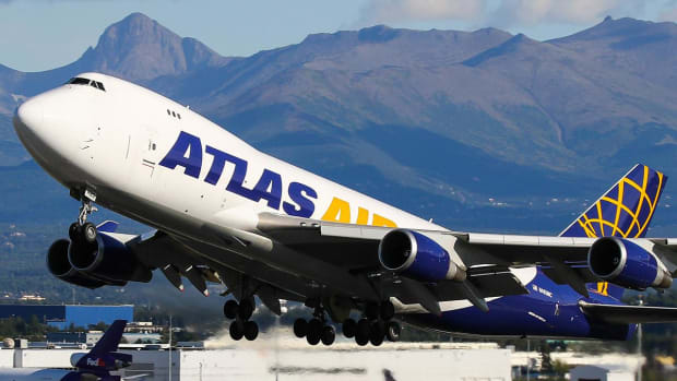 Atlas Air Stock Tumbles After Plane Hauling Cargo for Amazon Crashes