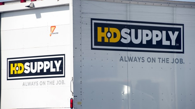 HD Supply Rises After Announcing Intent to Break Into 2 Companies