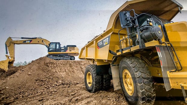 Buy Caterpillar Down to Key Levels and Enjoy the Dividend