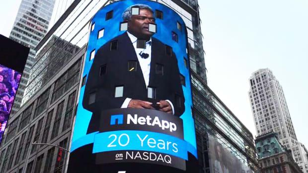 NetApp Advances on Improved Adjusted First-Quarter Results, Outlook