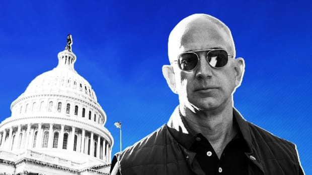 Amazon's Bezos: Big Companies 'Shouldn't be Vilified'