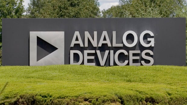 Analog Devices Rises on Strong First-Quarter Beat