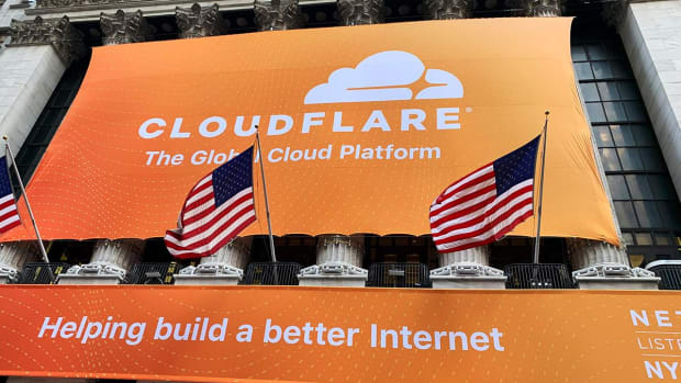 Cloudflare Rises Sharply in NYSE Trading Debut