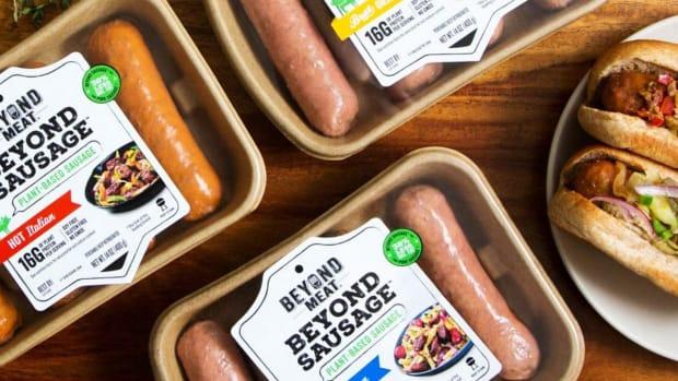 Beyond Meat Surges as Tim Hortons Tests Meatless 'Sausages' on Breakfast Menus