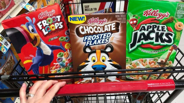 Kellogg to Take $35 Million Charge for North America Reorganization