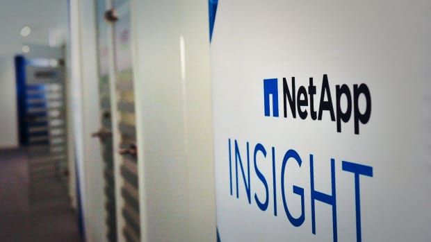 NetApp Shares Higher After Analyst Upgrade to Positive