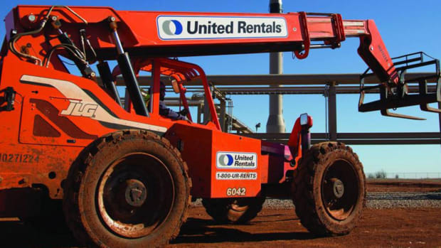 URI Gets Big Lift After Analyst Upgrade of Construction Equipment Renter