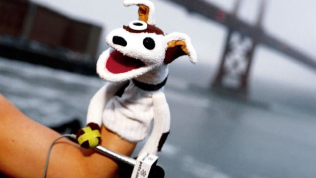 Pets.com's Sock Puppet hit the big-leagues in the dot-com era with appearances in the Macy's Thanksgiving Parade, his own 2000 Super Bowl ad and a live interview on Good Morning America.