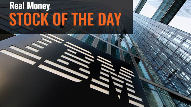 I Will Not Be Chasing IBM Stock Wednesday