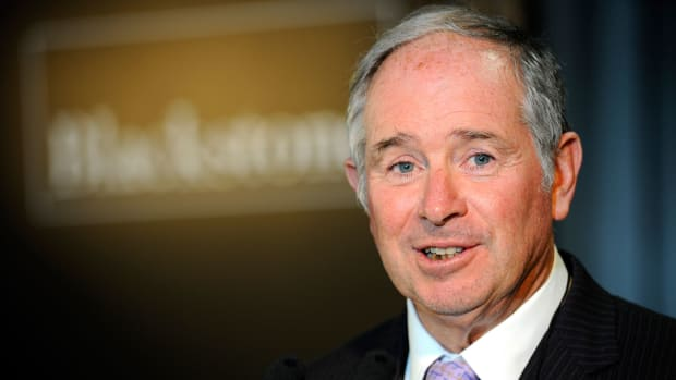 Blackstone CEO Schwarzman Makes $573 Million in One Day as Shares Jump