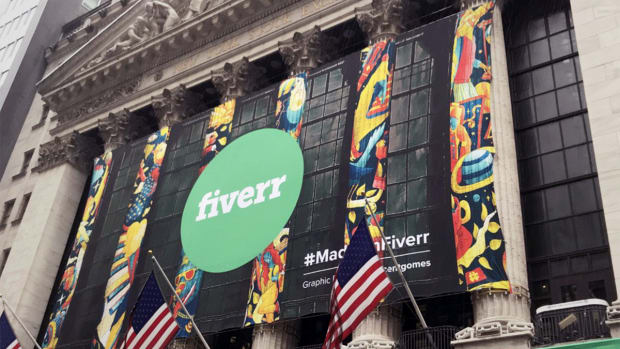 Fiverr Shares Jump in New York Stock Exchange Debut