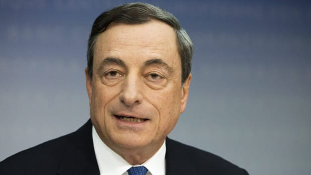 ECB Draghi: Unilateral Tariffs Are 'Dangerous', But We're Not In a Trade War Yet