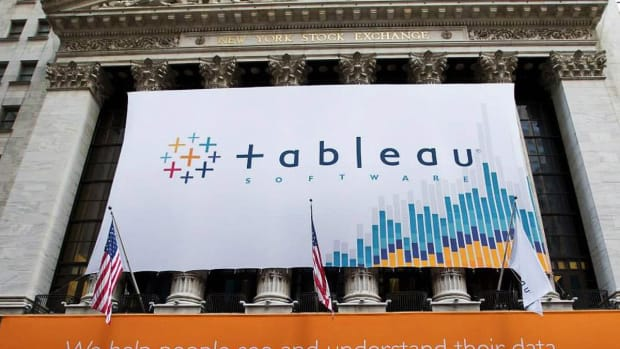 Tableau Software CFO: Our New Software Plan Is Helping Us Gain Ground
