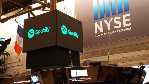 Spotify Doesn't Quite Hit the Spot With Investors as Shares Slump