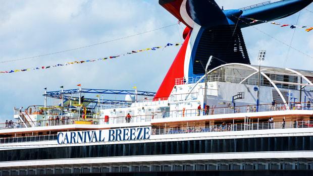 Carnival Docked After SunTrust Downgrade to Hold