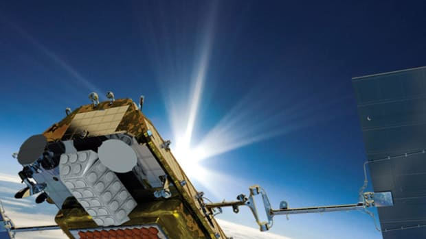 Iridium Rockets After Analyst Boosts Satellite Contractor