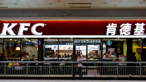 Investors Find Yum China Shares Finger-Licking Good