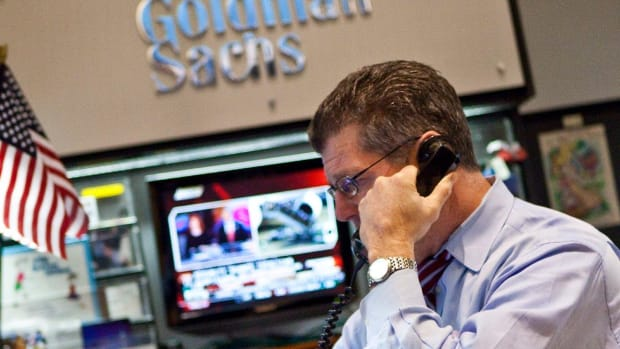 Goldman Sachs Shares Have Dropped for 11 Straight Days