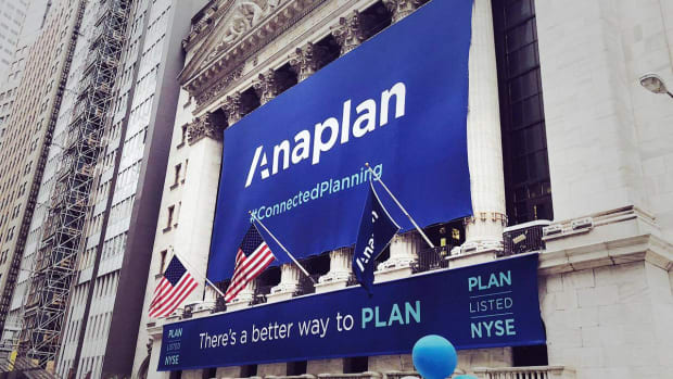 Cloud Company Anaplan Pops 43% in Trading Debut