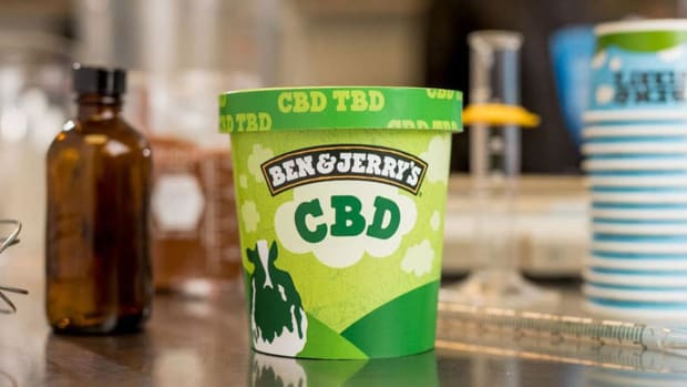 Ben & Jerry's Wants to Get in on CBD Craze