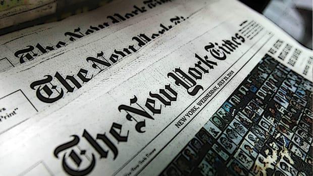 New York Times Shares Tumble on Barclays Downgrade