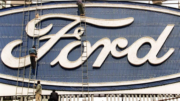 Ford's Stock Run Over After Profit Warning