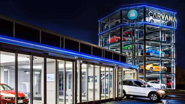 Carvana's Stock Explodes 15% on 3 Times Normal Volume