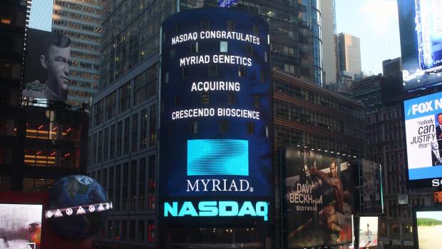 Myriad Genetics Plummets as Earnings Trail Forecasts, Guidance Is Slashed