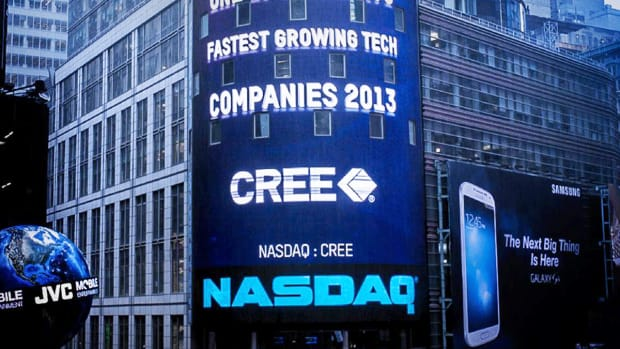 Cree Shares Fall on Piper Jaffray Downgrade to Underweight