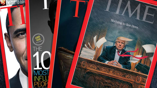 Trump and Mueller Make Shortlist for Time's 2018 Person of the Year