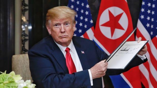 Stocks Mixed After Trump-Kim Summit, Wall Street Looks to Fed Meeting