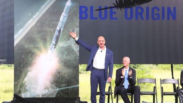 Spotlight On Space Exploration as Jeff Bezos' Blue Origin Sets Ticket Sale Date