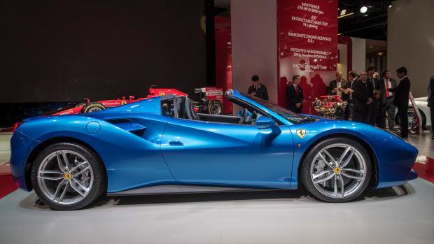 Ferrari's 488 Spider Will Make You Wish You Had $400,000: Preview