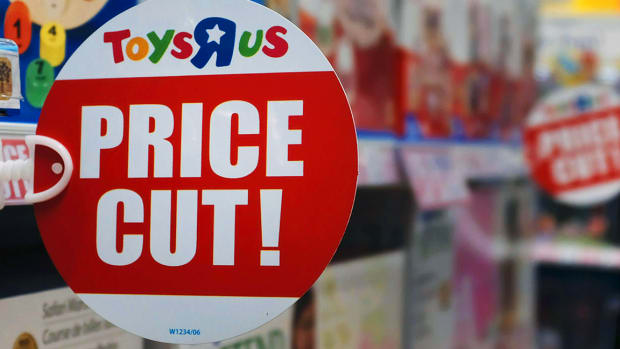 Toys 'R' Us to Close 180 Stores Across the U.S.