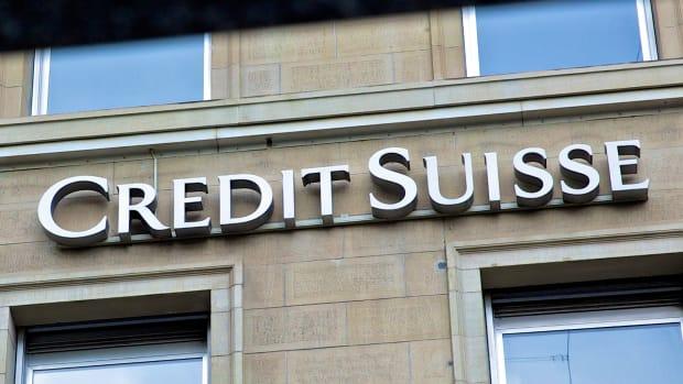 Credit Suisse Shares Slide on Concern Over Premarket Plunge in VIX ETN