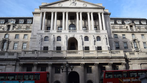 Bank of England Says Global Financial Markets Risks Are 'Material'