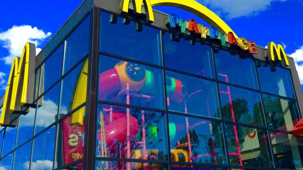 McDonald's Shares Dip as Revenue Falls