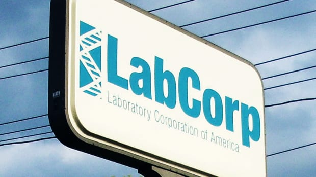 Laboratory Corp. Slides on Lowered Guidance