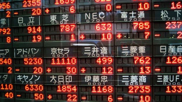 U.S. Stock Futures Steady; Asia Stocks Mostly Lower