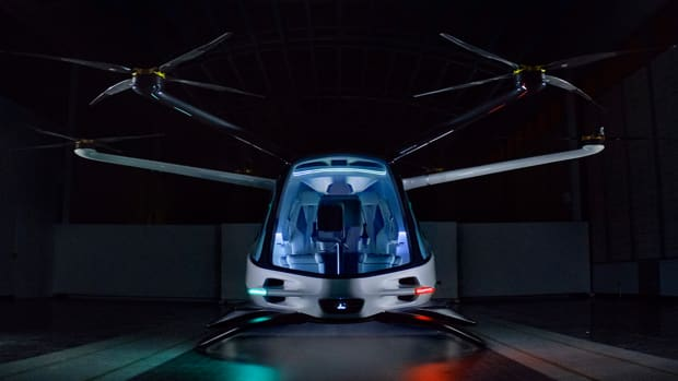 See the World's First Hydrogen-Powered Flying Car