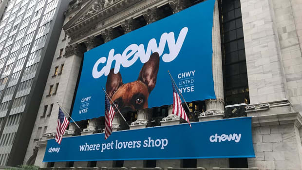 Chewy Let Out the Dogs