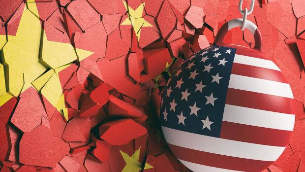 China Trade Overhang Weighs on Dow as Hong Kong Protestors Disrupt Air Travel
