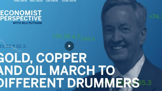 Economist Perspective: Gold, Oil and Copper: Dancing to Different Drummers