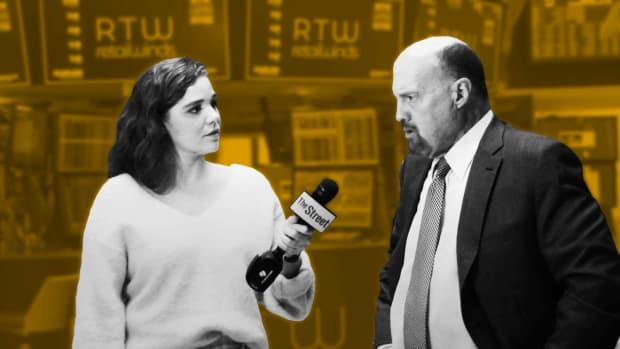 Jim Cramer's Breaking Down EA, Lyft, Anadarko and Markets