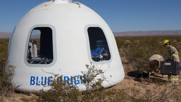 This Blue Origin Space Capsule Will Be Carrying Humans Soon