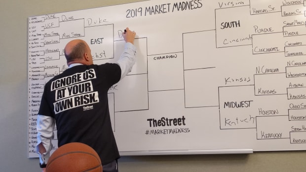 Inside Jim Cramer's Market Madness Bracket Challenge