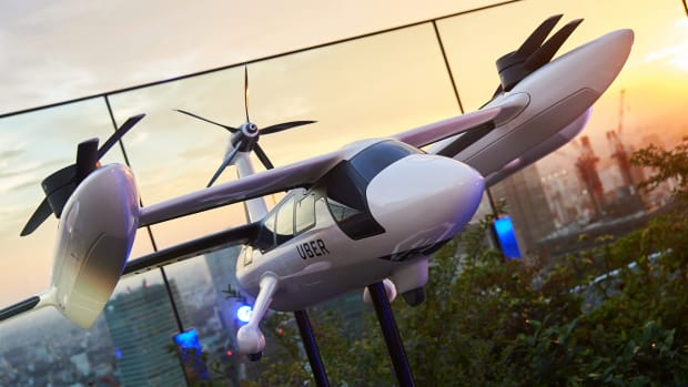 Uber Shows Off Its Air Taxi Design